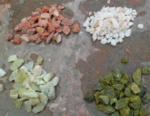 耐火材料  彩石子