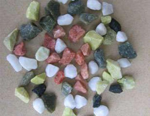 耐火材料  彩石子2