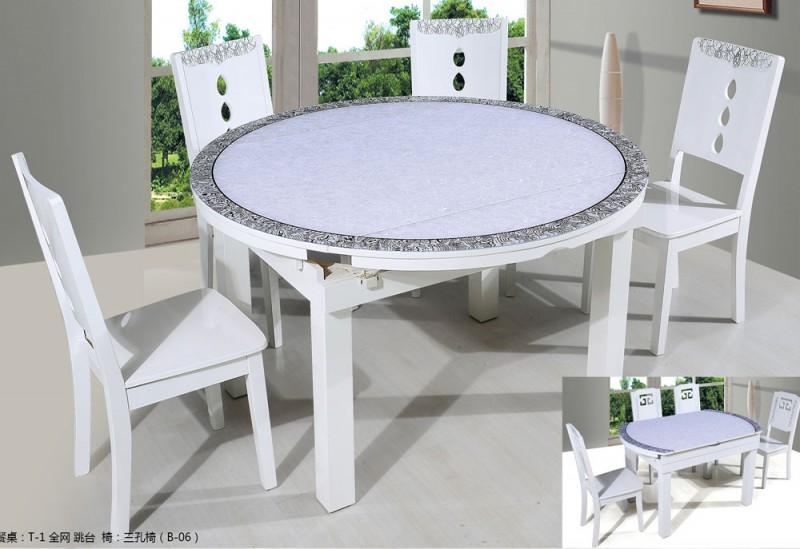 钢化玻璃餐桌1