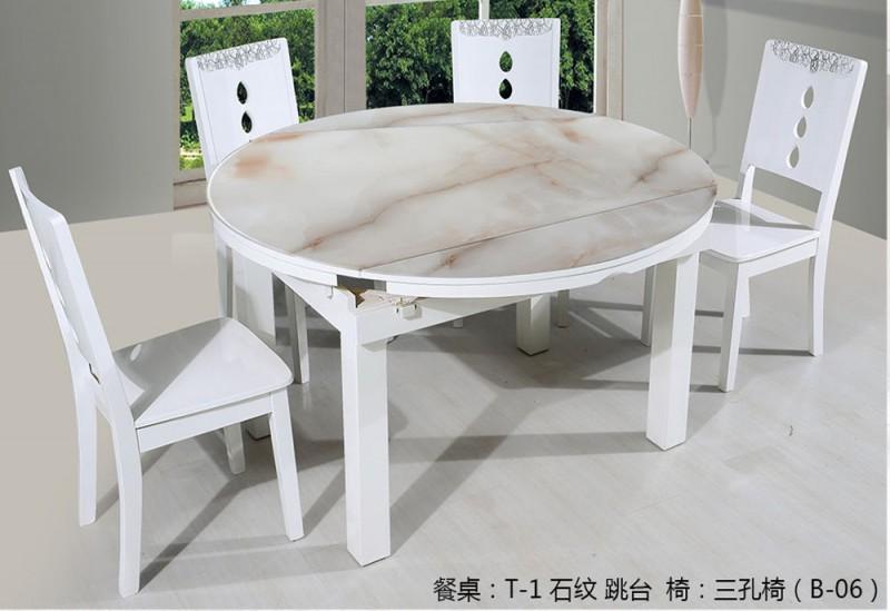 钢化玻璃餐桌2