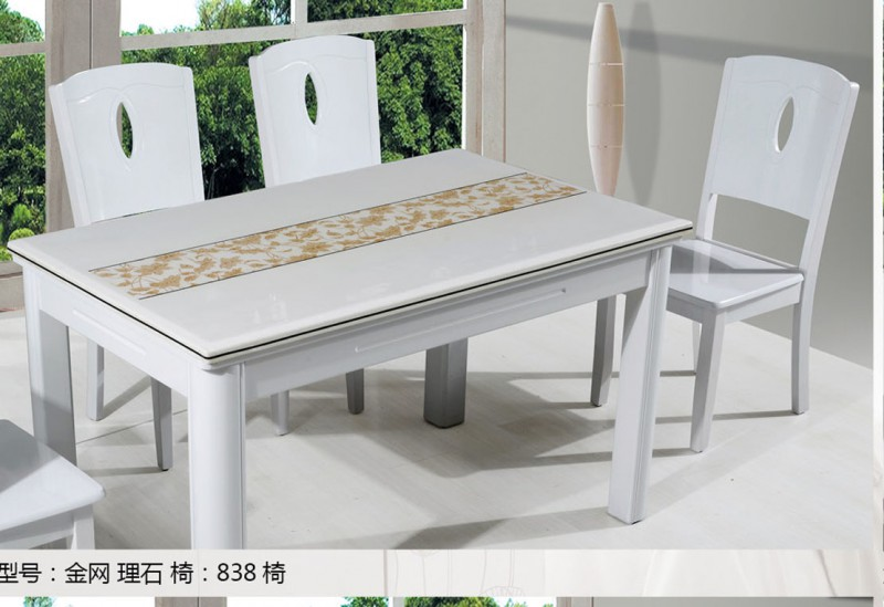 理石餐桌2