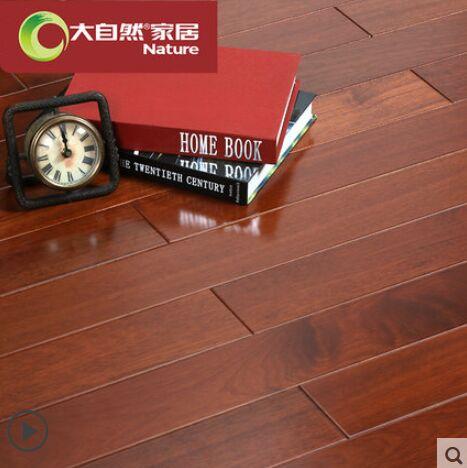 大自然野生原木地板纯实木地板任嘎漆木厂家直销JM02P
