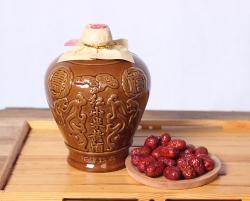 石龙堰黄酒   红小米三斤坛2