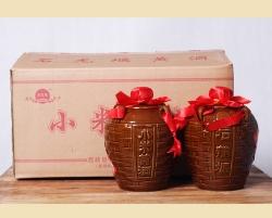 石龙堰黄酒   小米三斤坛