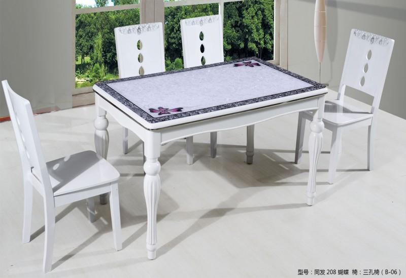钢化玻璃餐桌5