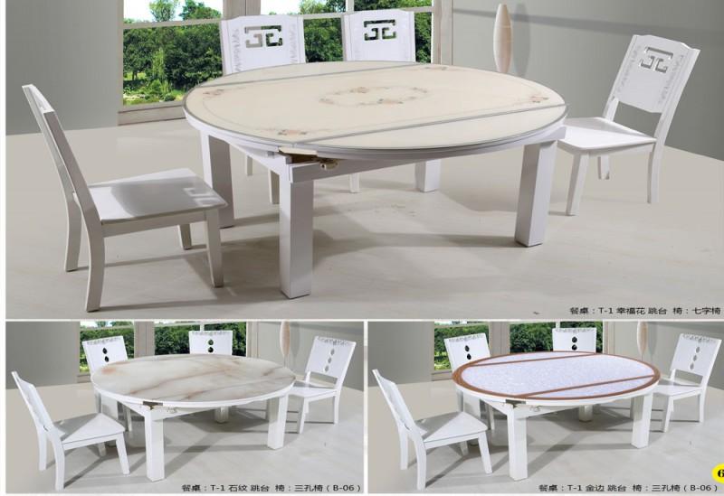 钢化玻璃餐桌6