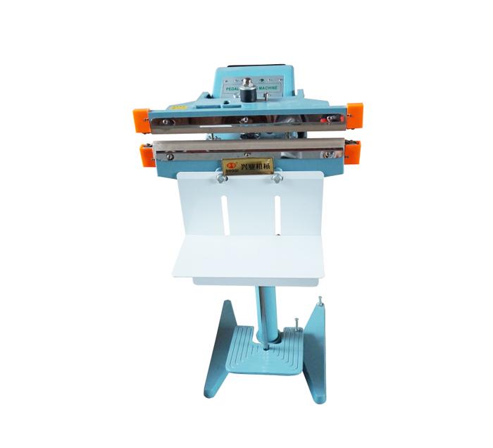 PFS-350-1000型铝架脚踏式封口机可配色带打码机