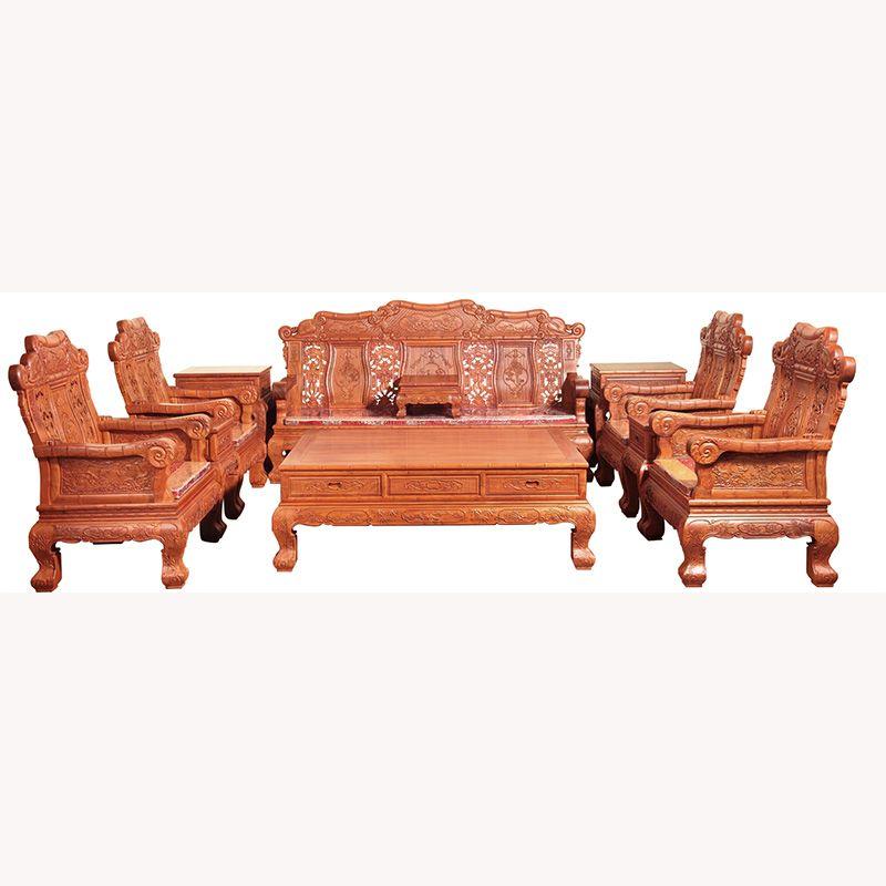 11件套竹节沙发