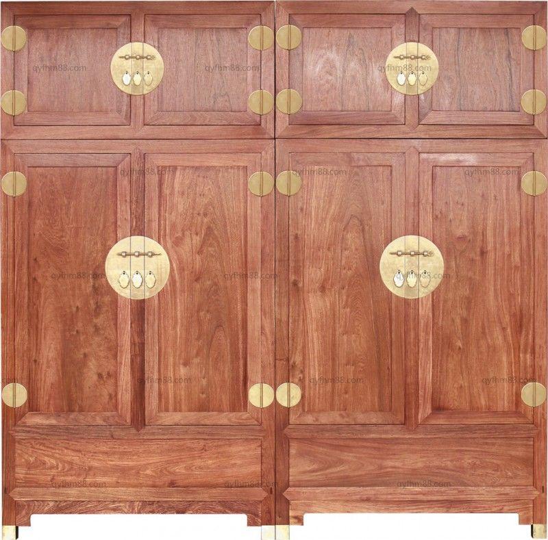 素面顶箱柜