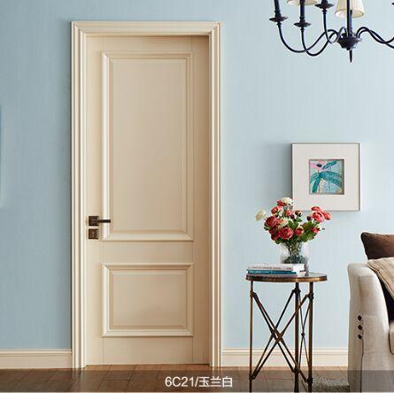 梦天木门时尚简欧油漆室内门卧室门房间门 6C21