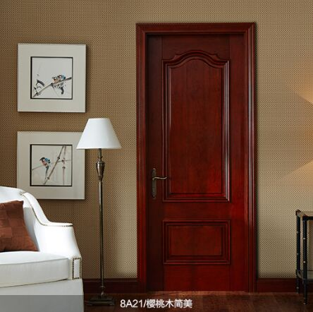 梦天木门时尚简欧水性漆室内门卧室房间门8A21