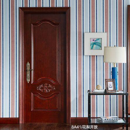 梦天木门时尚简欧水性漆室内门卧室门房间门 8A41
