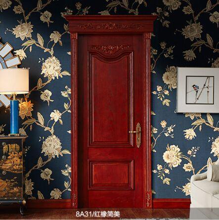 梦天木门时尚简欧油漆室内门卧室门房间门 8A31