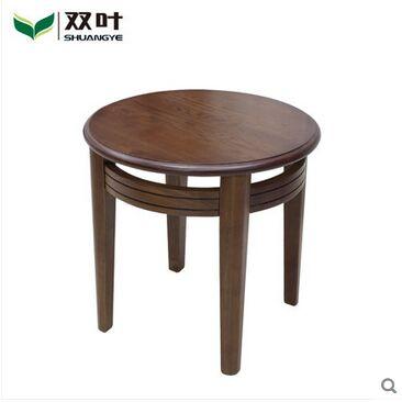 双叶家具 实木中式现代简约 圆桌 休闲学习几