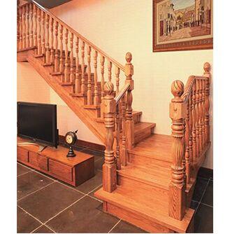 方城楼梯 实木楼梯18