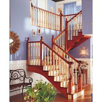 方城楼梯 实木楼梯21