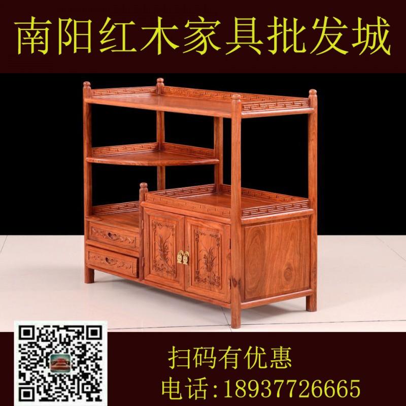 红木家具 实木家具 红木沙发 红木餐桌 红木床 刺猬紫檀 非洲花梨 缅甸花梨 二号茶水柜