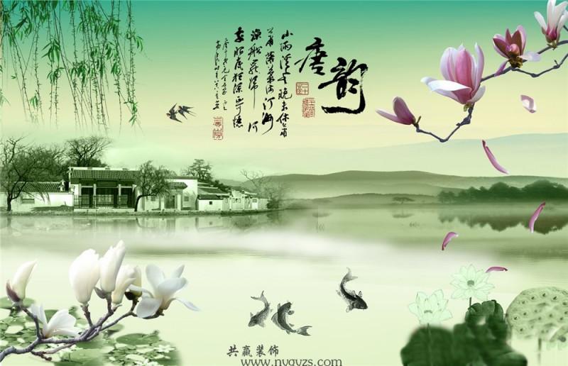 背景画中式古典12