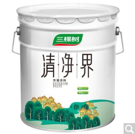 三棵树漆(SKSHU) 三棵树漆 油漆涂料清净界外墙漆