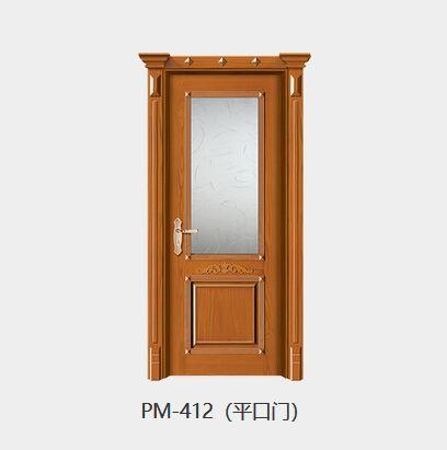 春天油漆门PM-412(平口门)
