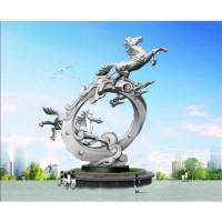 不锈钢雕塑2
