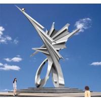 不锈钢雕塑3
