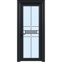 金鑫福智能门窗1.2保罗系列-平开门-氟碳黑-18-209款