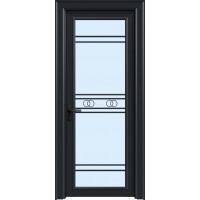 金鑫福智能门窗1.2保罗系列-平开门-氟碳黑-18-208款