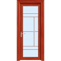 金鑫福智能门窗1.2保罗系列-平开门-红柚木-18-218款