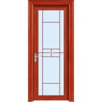 金鑫福智能门窗1.2保罗系列-平开门-红柚木-18-221款