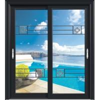 金鑫福智能门窗1.2保罗系列-推拉门-氟碳黑-18-086款