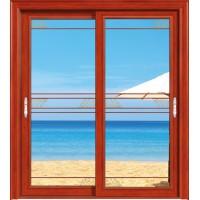 金鑫福智能门窗1.2保罗系列-推拉门-红柚木-18-095款