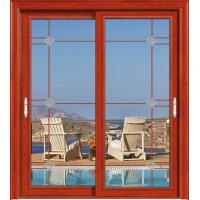 金鑫福智能门窗1.2保罗系列-推拉门-红柚木-18-096款