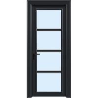 金鑫福智能门窗1.2保罗系列-平开门-氟碳黑-18-207款