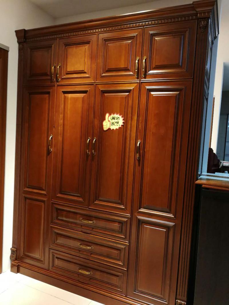 班尔奇实木衣柜