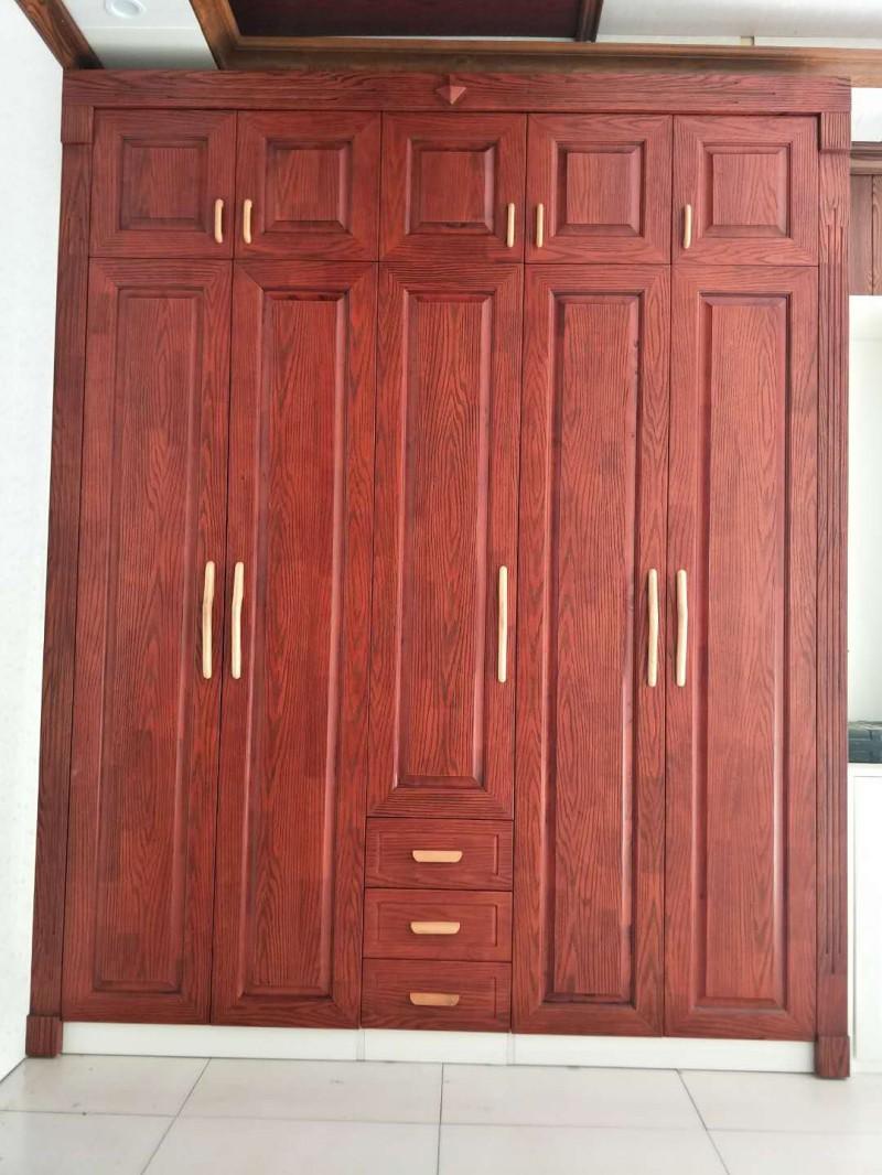 实木开放漆衣柜门