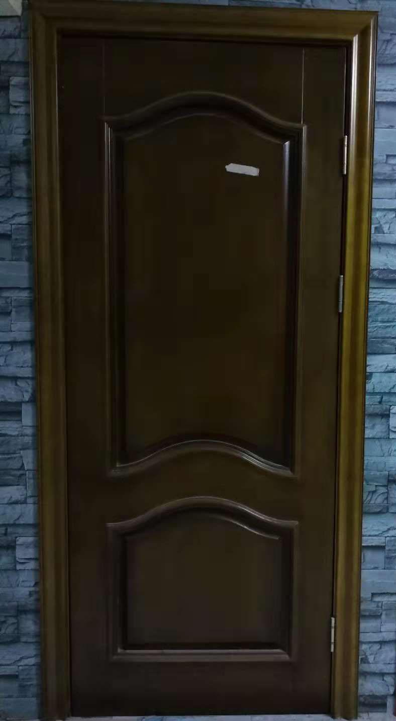 南阳麒麟门业橡木外相线原木门