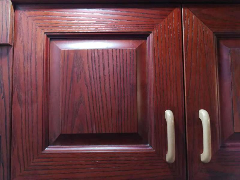 红橡实木柜门