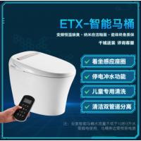 惠达 智能马桶无水箱即热式一体机暖风烘干座便器ET2