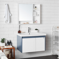 惠达 悬挂式实木浴室柜组合套装G801