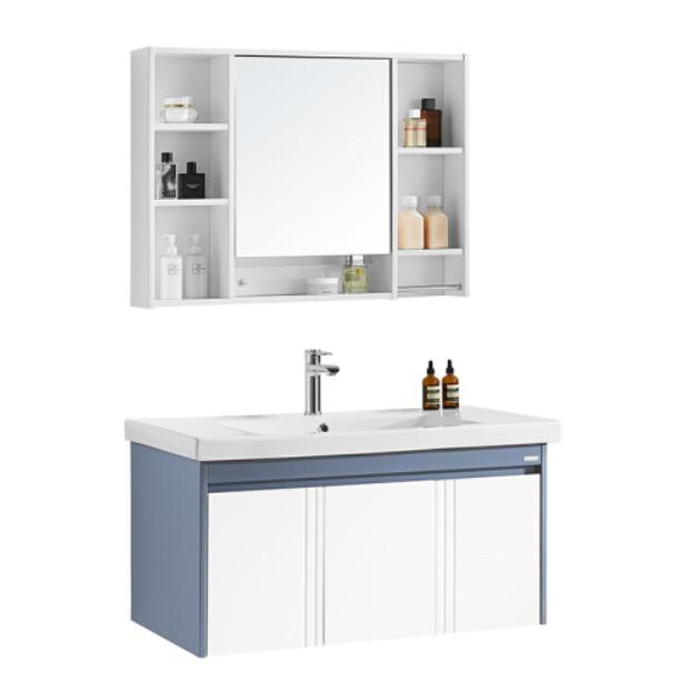 惠达(HUIDA)简约现代浴室柜组合套装HDG801