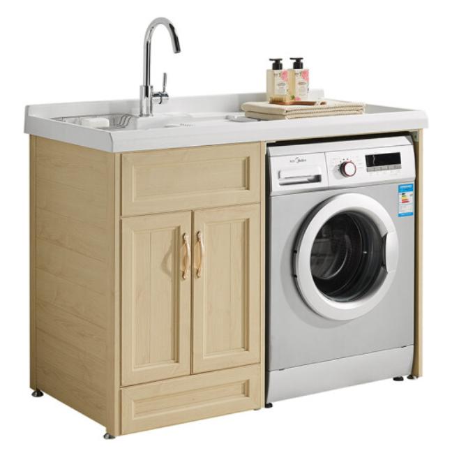 惠达 阳台洗衣机柜组合YP011-120L-HB