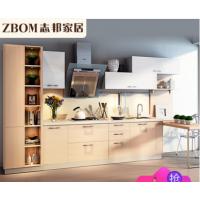 志邦厨柜 现代简约整体厨房定制定做 原木物语