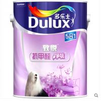 多乐士乳胶漆致悦抗甲醛净味五合一6L面漆乳胶漆内墙漆涂料