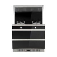 侧吸下排烟灶保洁柜系列集成灶JJZT-J90LH2(12T)