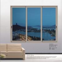 新豪轩门窗 轩逸推拉窗系列 W15-015 (两轨三扇)