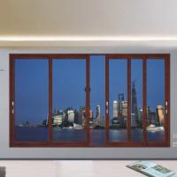 新豪轩门窗  朗逸断桥推拉窗系列 W15-013