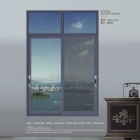 新豪轩门窗  朗逸断桥推拉窗系列 W15-012