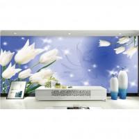 蔚莱雅背景墙 3D花朵框圈系列