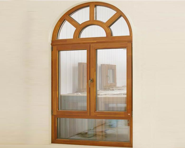 蓝卡门窗  86异形铝木系列-09